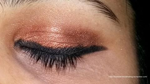 maybelline eyestudio lasting drama gel pencil striking copper review eotd hopesanddreamzblog