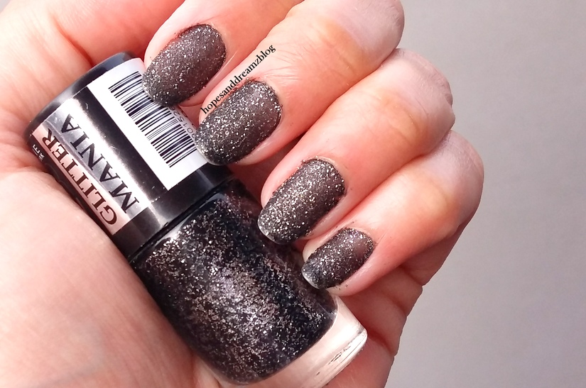 Maybelline Glitter Mania Nail Polish, Starry Nights: Review ...