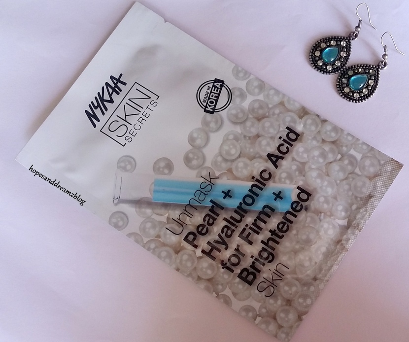 Review: Nykaa Skin Secrets Pearl And Hyaluronic Acid Sheet